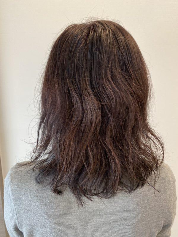 クセ毛を生かしたヘアスタイル